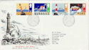 1985-06-18 Safety At Sea Bureau FDC (47283)