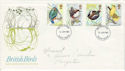 1980-01-16 British Birds FDC (47459)