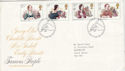 1980-07-09 Authoresses Bureau FDC (47525)