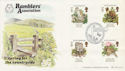 1986-05-20 Ramblers Association Official FDC (47772)