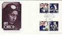 1988-06-21 Amy Johnson Australian Bicen Official FDC (47773)