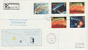 1986-02-18 Halleys Comet Herstmonceux cds FDC (47785)