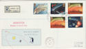 1986-02-18 Halleys Comet Shoreditch cds FDC (47787)