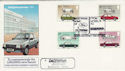 1982-10-13 Cars Ford Escort Dagenham Motors FDC (47793)