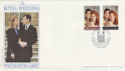1986-07-22 Royal Wedding Westminster Abbey FDC (47811)