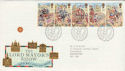 1989-10-17 Lord Mayor's Show Bureau FDC (47834)
