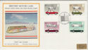 1982-10-13 Motor Cars Silk Crewe FDC (47840)