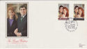 1986-07-22 Royal Wedding Silk York FDC (47843)