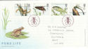 2001-07-10 Europa Pond Life Oundle FDC (47969)