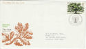 1973-02-28 British Trees Bureau FDC (48227)