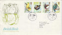 1980-01-16 British Birds Sandy Beds FDC (48284)