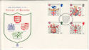 1984-01-17 Heraldry London EC FDC (48353)