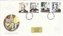 1995-09-05 Communications Stamps FDC (48435)