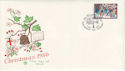 1986-12-02 Christmas 12p Glastonbury FDC (48453)
