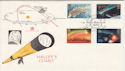 1986-02-18 Halley's Comet Old Royal Observatory SE10 FDC (48462)