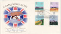 1983-03-09 Commonwealth Day Gandhi Romsey FDC (48467)