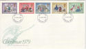 1979-11-21 Christmas Stamps Basingstoke FDI (48537)