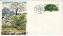 1974-02-27 British Trees Bureau FDC (48720)