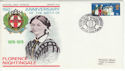1970-04-01 Florence Nightingale NAM BF 1205 PS FDC (48776)