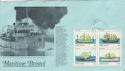 1982-02-22 Steep Holm Ships Cover (48840)