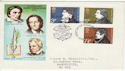 1971-07-28 Literary Anniversaries London EC FDC (48879)