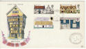 1970-02-11 Rural Architecture Patrington cds FDC (48898)