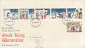 1973-11-28 Christmas Stamps London FDI (48904)