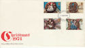 1974-11-27 Christmas Stamps Swindon FDI (48933)