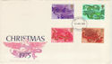 1975-11-26 Christmas Stamps Liverpool FDI (48951)