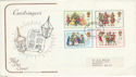 1978-11-22 Christmas Stamps Swindon FDI (48996)