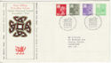 1982-02-24 Wales Definitive Cardiff FDC (49187)