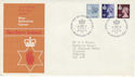 1978-01-18 N Ireland Definitive Belfast FDC (49207)