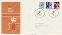 1978-01-18 N Ireland Definitive Bureau FDC (49208)