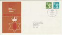 1976-01-14 N Ireland Definitive BELFAST FDC (49250)
