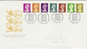 1991-09-10 Definitive Stamps Windsor FDC (49300)