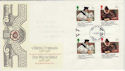 1988-03-01 Welsh Bible 18p 26p Gutter Pairs FDC (49386)