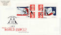 2002-05-21 PM6 World Cup Football Bklt Baltasound FDC (49505)
