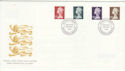 1999-03-09 High Value Definitive King Edward St FDC (49510)