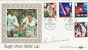 1991-06-11 Rugby Union World Cup Benham Signed FDC (49561)