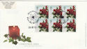 2002-12-24 Christmas Bklt S/A Cyl Margin Souv (49581)