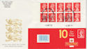 1993-04-06 HD10 Booklet Stamps Coventry FDC (49592)