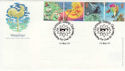 2001-03-13 Weather Exmouth Stamp Club FDC (49614)