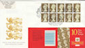 1997-11-13 10 x 1st Gold Royal Wedding Romsey Souv (49692)