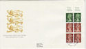 1991-09-10 Definitive 1.00p Bklt Windsor FDC (49729)