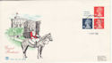 1988-09-05 Definitive Bklt Stamps Windsor FDC (49753)