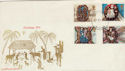 1974-11-27 Christmas Haslemere cds FDC (49918)