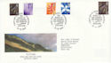2000-04-25 Scotland 65p Doubled 2003 FDC (49961)