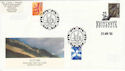 2000-04-25 Scotland 65p Doubled 2003 1st 2nd FDC (49966)