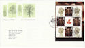 2000-09-18 A Treasury of Trees PSB Pane Bureau FDC (49982)