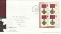 2006-09-21 Victoria Cross PSB 20p Pane Potters Bar FDC (50089)